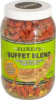 Fluker's 76042 Buffet Blend Adult Bearded Dragon Veggie Variety Diet, 4.5oz