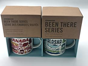 2 Mug Set: Alaska + Canada Been There Series (BTS) 14 Ounce Mugs