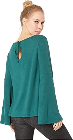 Liberal Arts Brushed Knit Top