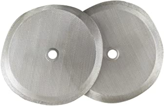 """French Press Filters by Slimm Filter: 2 Premium 4"""" Reusable Stainless Steel Metal Filters for Bodum French Press Coffee Makers - Plus Bonus Coffee Tips and Recipe eBook"""