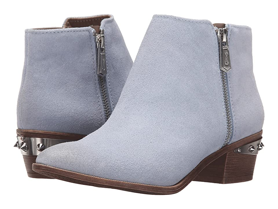 Circus by Sam Edelman Holt (Opal Blue Velour Suede/Metallic Crom) Women
