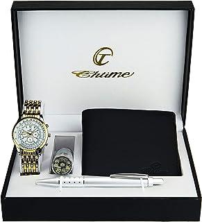 Bellos - Caja de regalo con reloj de pulsera para hombre col