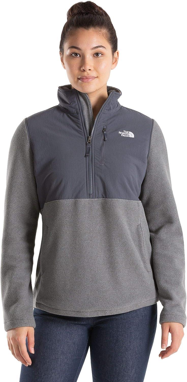 Ranking TOP3 The North Face Women's Sweatshirt Candescent Bargain Quarter Zip