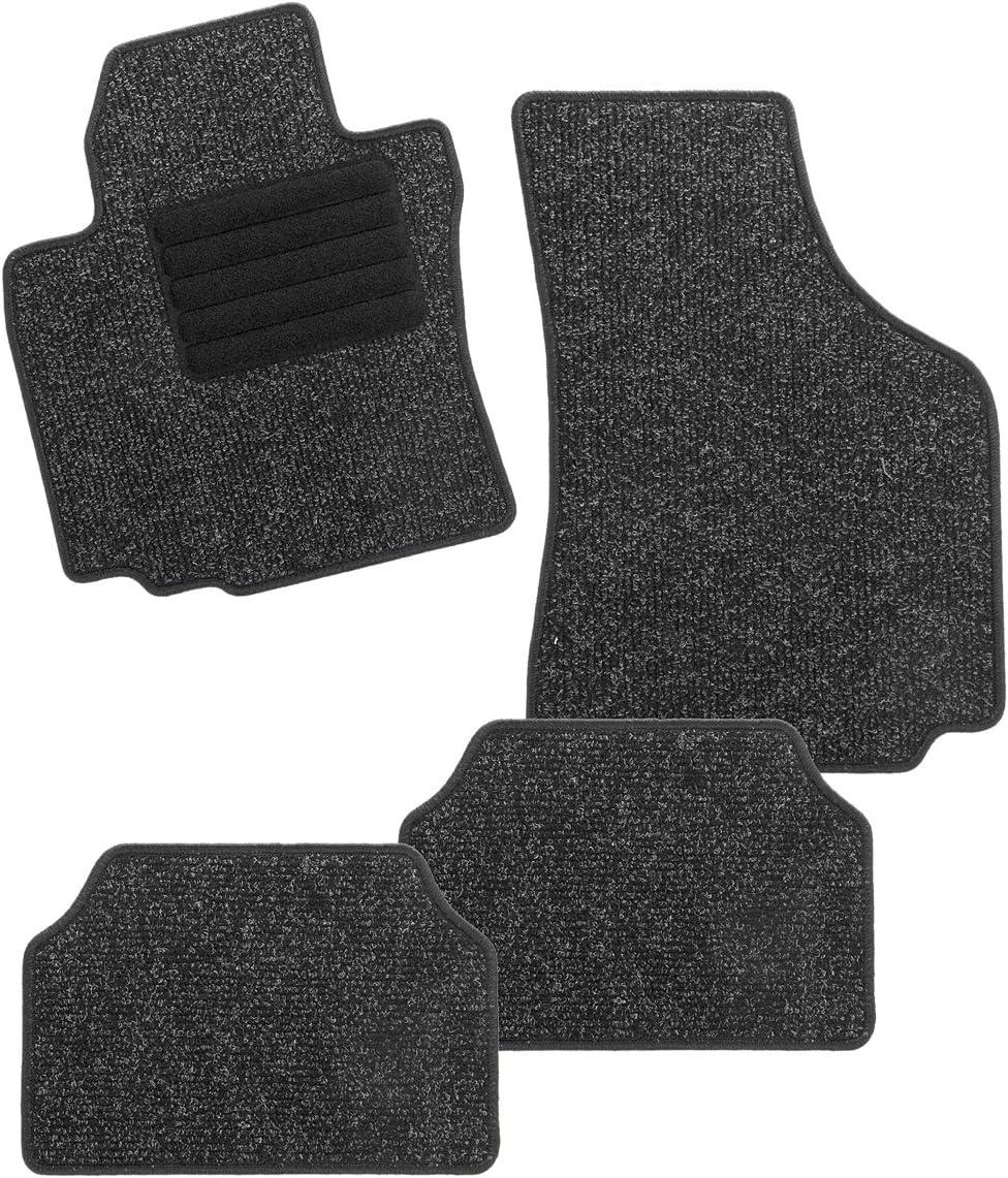 CarFashion BasicRips DL4 255234 Car Mottled Floor Mat in Black Same day Manufacturer OFFicial shop shipping