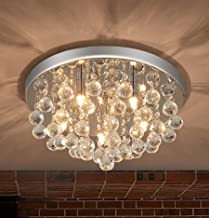 PUSU Modern Chandelier Lighting for Dining Room 5G9 Minimalist Home Decor Crystal Kitchen..