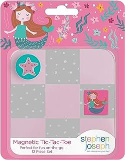 Stephen Joseph Magnetic Tic Tac Toe Sets, Mermaid