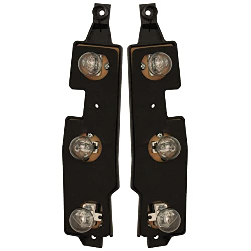 Chevy Gmc Truck 88 00 Right Left Pair Set Taillights Taillamps Connector Plate
