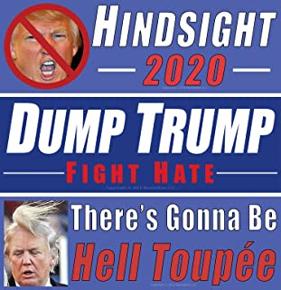 Anti Donald Trump Bumper Sticker Variety Protest Pack. Our 3 Best Decals For 1 Low Price to Show How Much You Loathe the President & His Billionaire Cabinet. Now Its Your Turn to Tell It Like It Is!