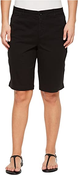 NYDJ Petite - Petite Bermuda Shorts in Black