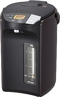タイガー魔法瓶(TIGER) 電気ポット 3.0L 蒸気レス VE 電気 まほうびん とく子さん ブラウン PIS-A300-T