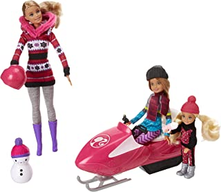 Barbie FDR73 Sisters Snow Fun Doll Giftset, Multicolor