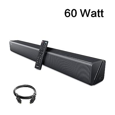 Soundbar, GooDee 30-Inch Home Theater 60 Watt S...