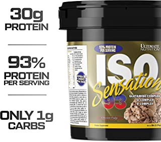 Best ultimate nutrition iso sensation Reviews
