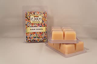3 Pack Soy Wickless Candle Bar Wax Melts (Sugar Cookies)