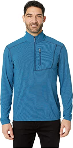 Ridge Stripe 1/4 Zip