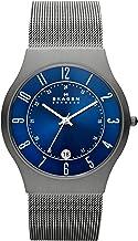 Skagen Men's Sundby Titanium and Stainless Steel Mesh Casual Quartz Watch