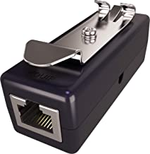Ethernet Surge Protector (Standalone or DIN Rail Mount) (PoE+ Gigabit) - Gas Discharge Tube for Full Protection - RJ45 Lightning Suppressor - LAN Network CAT5/CAT6 Thunder Arrestor - Tupavco TP309