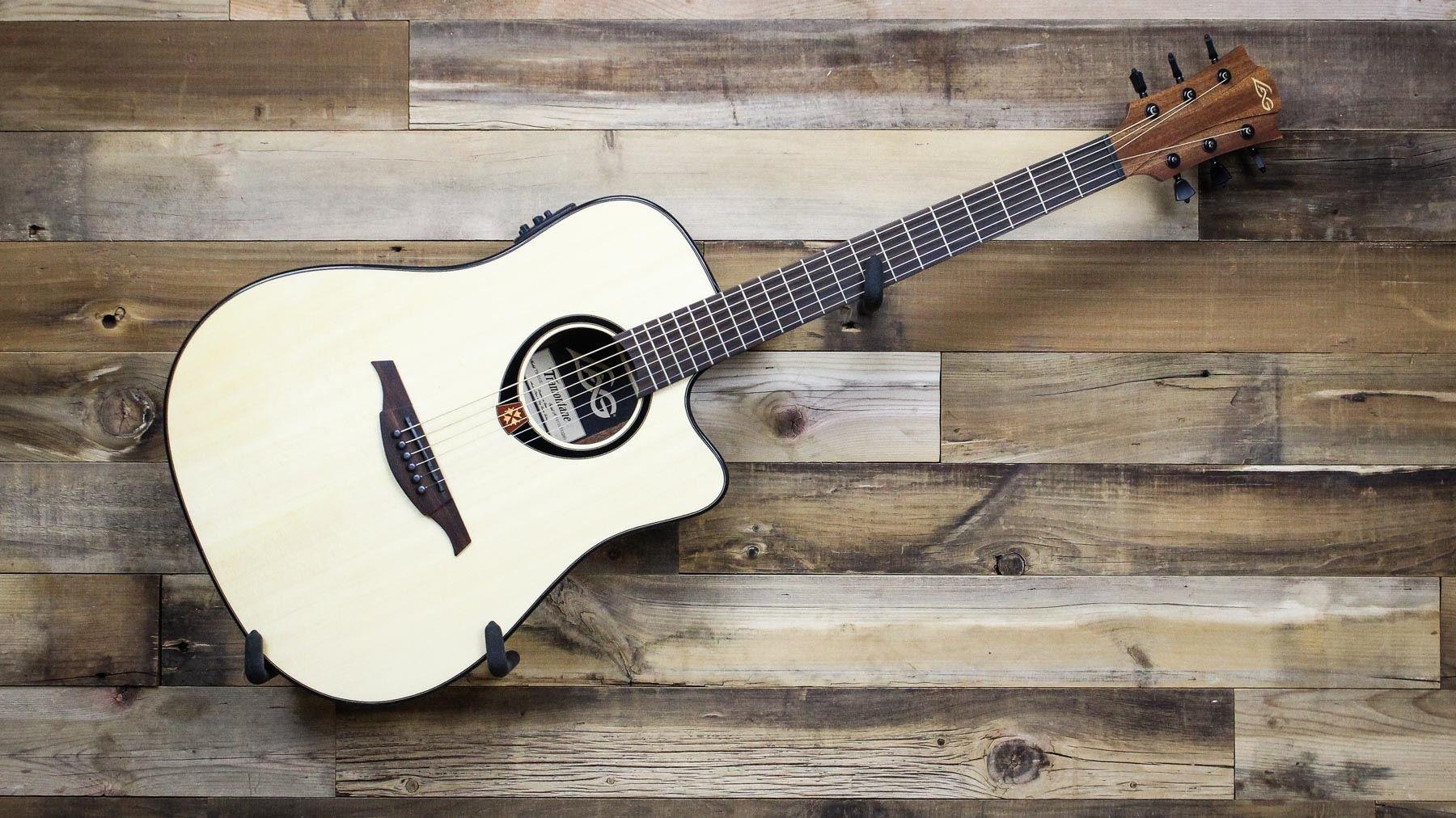 Lag T80DCE - T80d ce dreadnought guitarra electro acustica cutaway ...