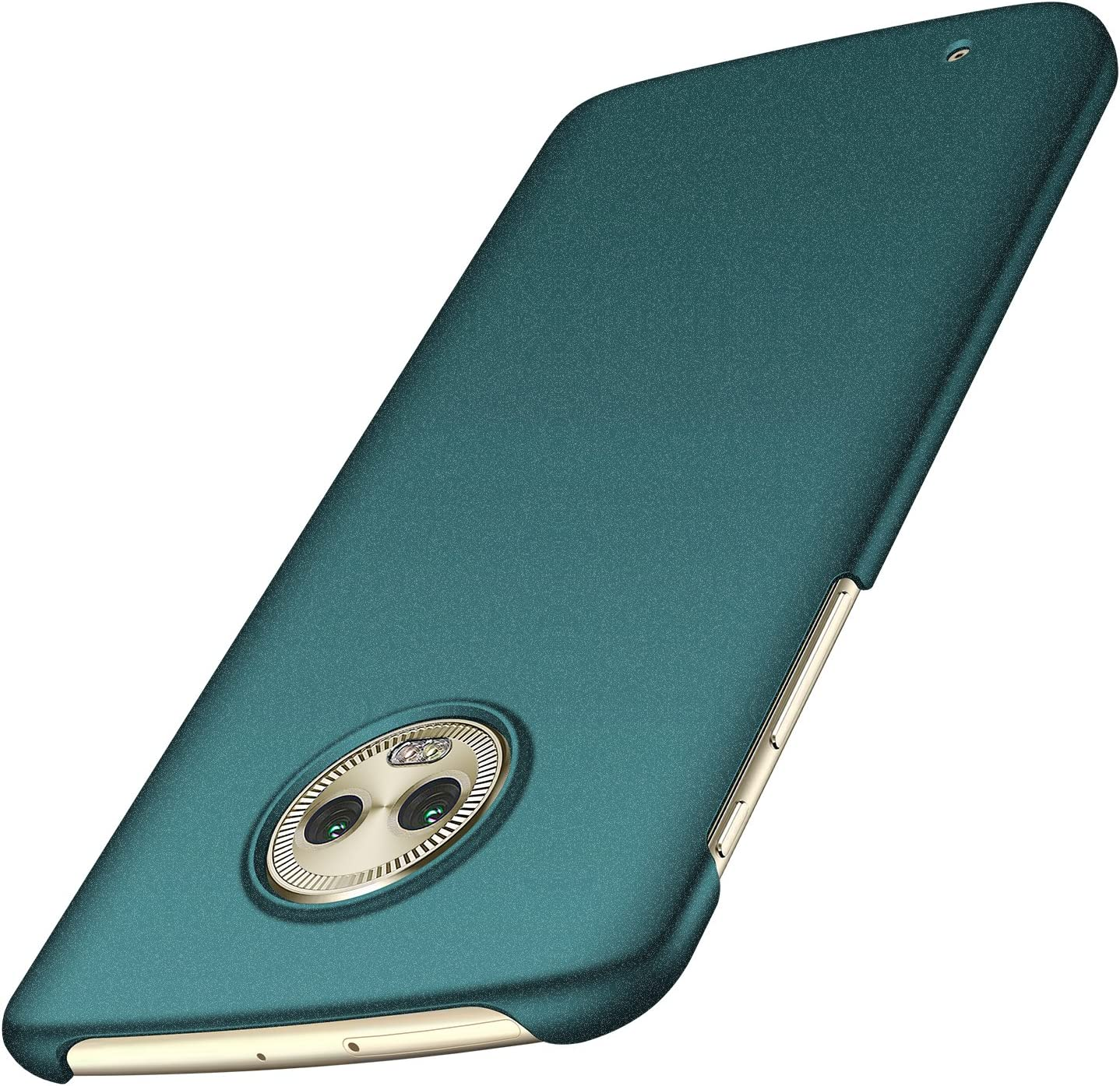Anccer Moto G6 Case [Colorful Series] [Ultra-Thin] [Anti-Drop] Premium Material Slim Cover for Moto G6 (Not Fit for Moto G6 Plus) - Gravel Green