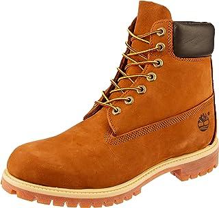 Timberland Men's AF 6in Prem BT Boots, Rust Nubuck