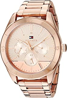 Tommy Hilfiger Women's Rose Gold Stainless Steel Casual Watch - 1781884