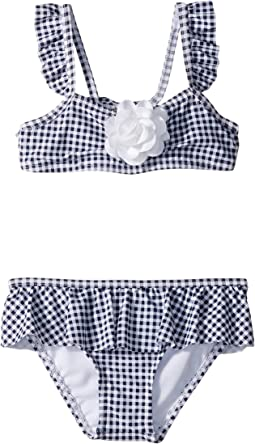 Gingham Two-Piece Swim Set (Toddler/Little Kids/Big Kids)