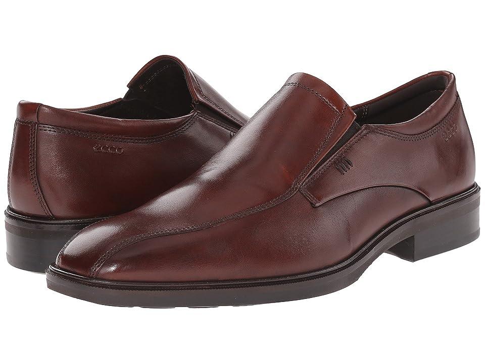 ECCO Illinois Slip-On (Cognac) Men