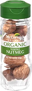 McCormick Gourmet Organic Whole Nutmeg, 1.5 oz