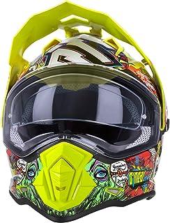 O'NEAL | Motorrad Helm | Enduro Adventure Street | Ventilationsöffnungen für maximalen Luftstrom und Kühlung, integrierte Sonnenblende | Sierra Helmet Crank | Erwachsene | Multi | Größe M