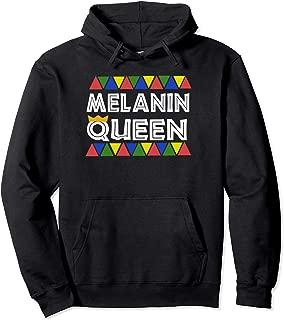 Melanin Queen Womens Hoodie Perfect Black African Crown Gift