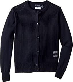 Nautica Kids Pointelle Cardigan (Little Kids)