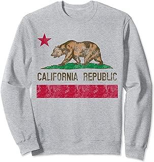 California Republic Flag Bear Vintage Souvenir Sweatshirt
