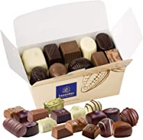 Leonidas Belgian Chocolates | NO Alcohol Assortment of Milk Chocolates, Dark Chocolates and White Chocolates in a...