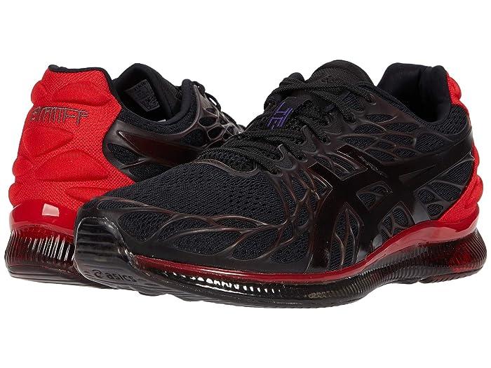ASICS  GEL-Quantum Infinity 2 (Black/Classic Red) Mens Running Shoes