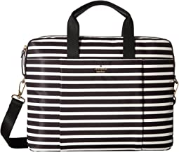 Stripe Nylon Laptop Bag Laptop Case