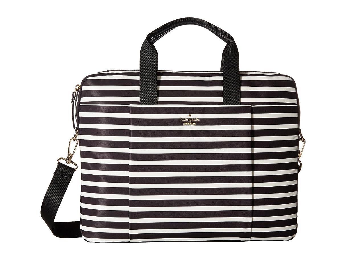 歴史的サリーワークショップ[ケイトスペード ニューヨーク] Kate Spade New York レディース Stripe Nylon Laptop Bag Laptop Case ブリーフケース [並行輸入品]