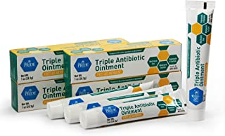 Medpride Triple Antibiotic Ointment [1 oz] 4-Pack | 24-Hour, First Aid Ointment for Minor Wounds, Scratches & Abrasions | Preventative Ointment with Zinc, Neomycin & Polymyxin