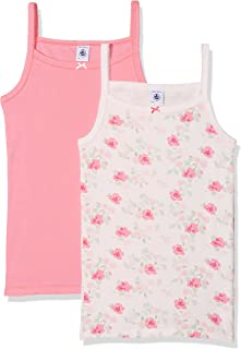 10, Hot Pink Undershirt RIB Solid for Girls Hot Pink Sizes 3-12-