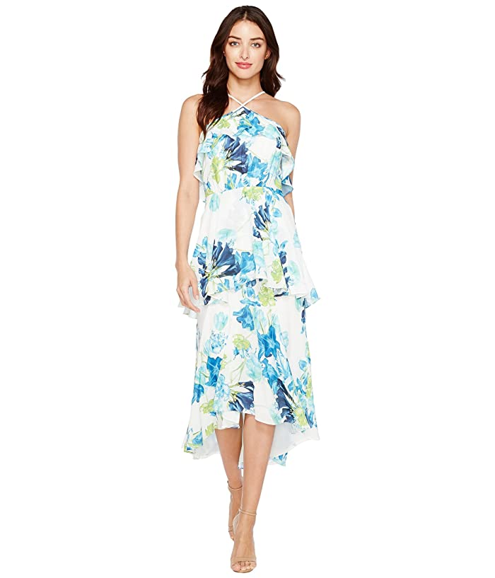 822e91f647 CeCe Whisper Blooms Tiered Ruffle Maxi Dress at 6pm