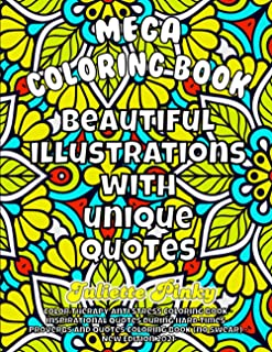 Color Therapy Anti Stress Coloring Book - Inspirational Quotes During Hard Times - Proverbs And Quotes Coloring Book (no s...