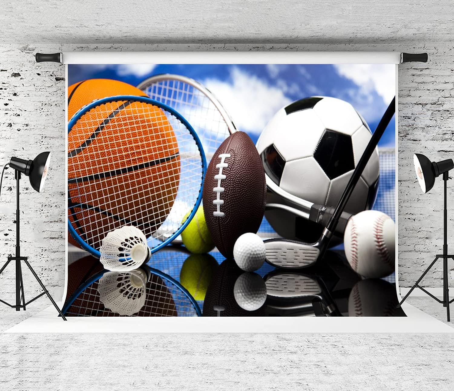 Our shop OFFers the best service DYCBNESS Photography Background Sports Equipment Mail order Soccer Football