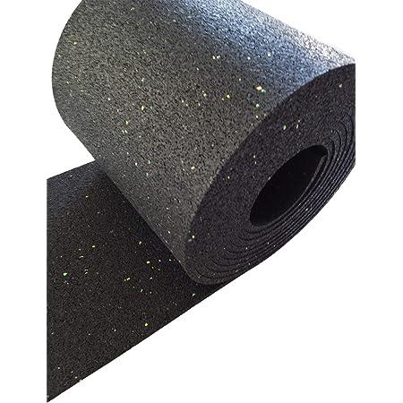 Systafex/® Antirutschmatte Gummimatte Unterlage Matte Gummi Unterlage Bautenschutzmatte 6 mm 125cm x 150cm