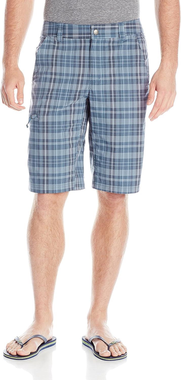 Columbia 5% OFF Sportswear Men's Cool Shorts Creek Nashville-Davidson Mall Stretch Plaid