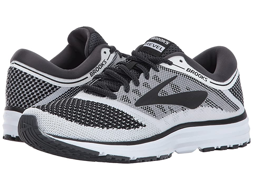 Brooks Revel (White/Anthracite/Black) Women