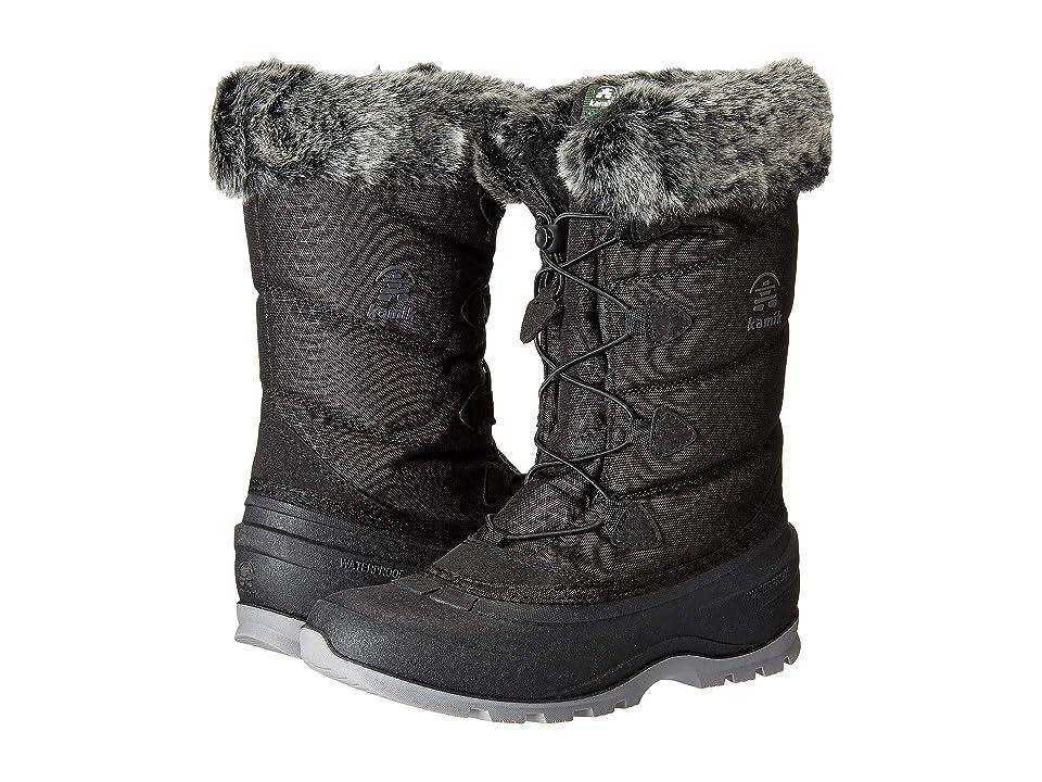Kamik Kids Prairie (Toddler/Little Kid/Big Kid) (Black) Girls Shoes