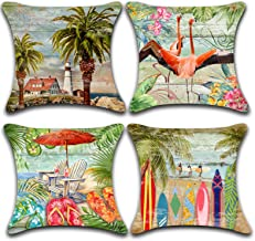 Outdoor Tropical Accent Pillows