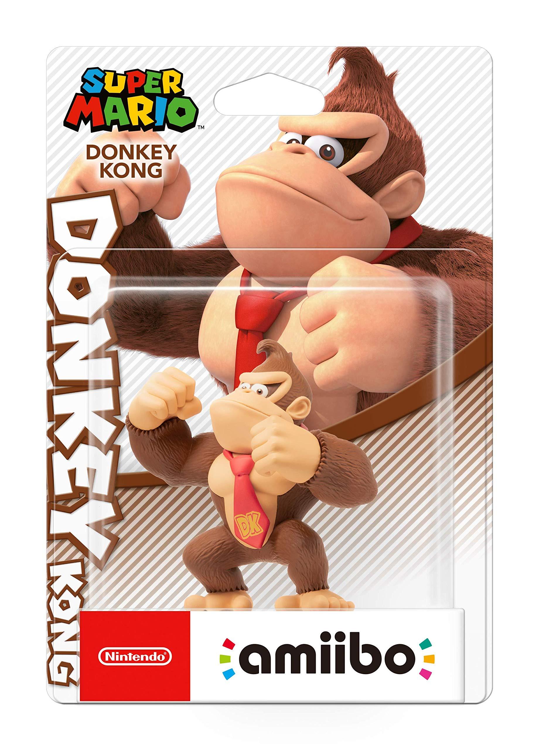 Nintendo - Amiibo Donkey Kong, Colección Mario: Amazon.es: Videojuegos