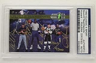 Shaq O'Neal 1992 CLASSIC 4 SPORT Rookie Card Autograph 2569/9500 Signed PSA