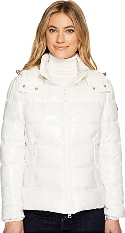 Short Coat with Removable Hood