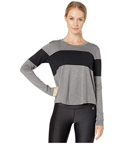 Body Language Elliot Pullover (Charcoal/Black Mesh) Women